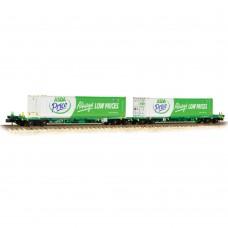 Graham Farish 377-368 Intermodal bogie wagons Asda