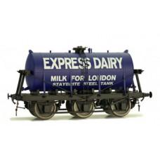 Dapol O 7F-031-007 6 Wheel milk Tanker