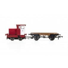 Hornby R3705 Ruston & Hornsby John Dewar locomotive