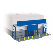 Wills Modern SSM310 supermarket frontage kit