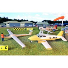 Gaugemaster GM 443 Airfield Planes and Gliders  kit