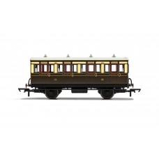 Hornby R40111 4 wheel coach 1st class GWR