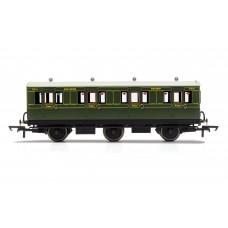 Hornby R40131  6 wheel coach 1st class SR