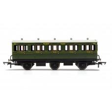 Hornby R40086 6 wheel coach 3rd class SR