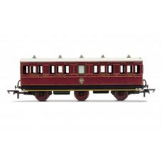 Hornby R40091 6 wheel coach composite NBR