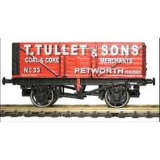 Gaugemaster GM7410203 T.Tullet 7 plank wagon