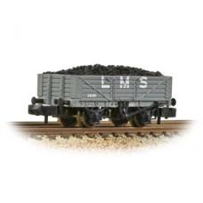 Graham Farish 377-064 5 plank L.M.S. Grey