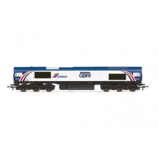 Hornby R3951 class 66 locomotive The a Cemex Express