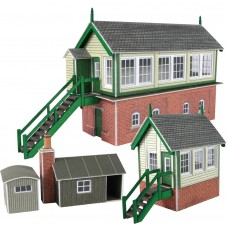 Metcalfe PN133 signal box set