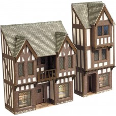 Metcalfe pn190 loW relief half timbered shop front