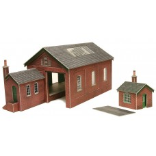 Metcalfe PO232 Goods Shed