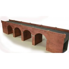 Metcalfe po240 double track brick viaduct