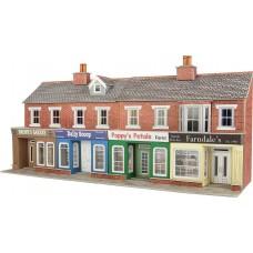 Metcalfe po272 low relief  shop fronts brick