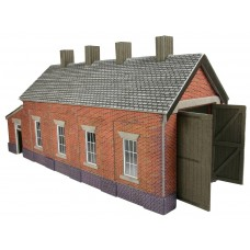 Metcalfe po331 engine shed single track brick
