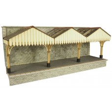Metcalfe pn941wall backed  platform canopy
