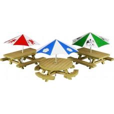 Metcalfe po510 picnic tables