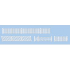 Ratio 420 station fencing ramps and gates white
