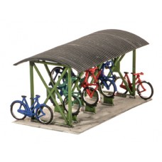 Wills SS23 Bike shed and bikes